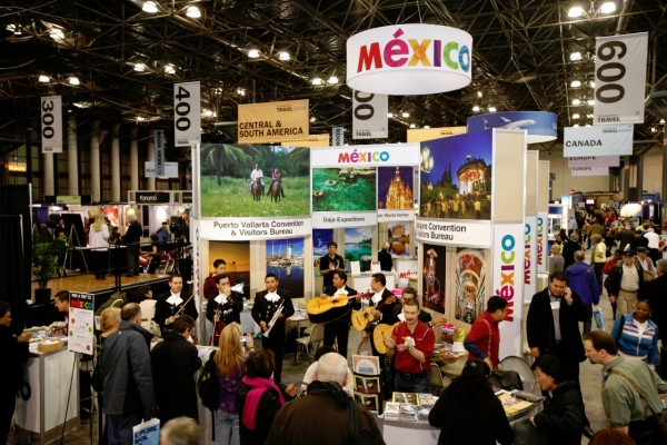 Mexico Booth at New York Times Travel Show