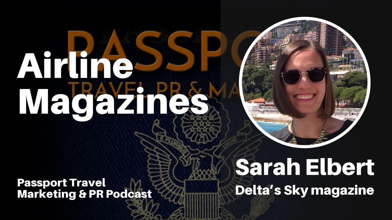 Sarah Elbert of Delta Sky Magazine