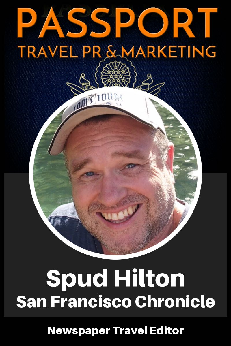 Interview of Spud Hilton of the San Francisco Chronicle about the shrinking world of newspaper travel editors. (Podcast)