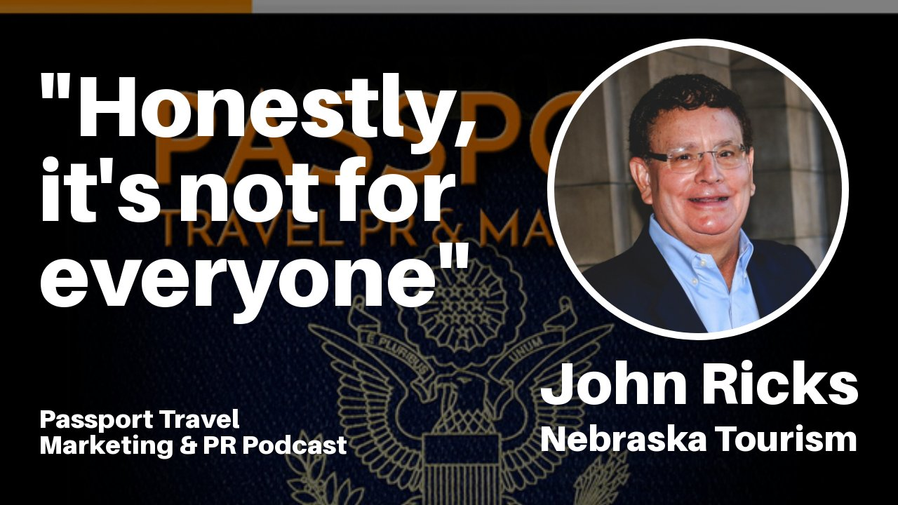 """Honestly, it's not for everyone"" – Passport Travel Marketing & PR Podcast #029"